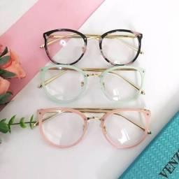 Lindos óculos feminino de descanso ou para por lente de grau