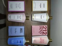 Perfumes Miniaturas 25ml e Primeira linha 50ml