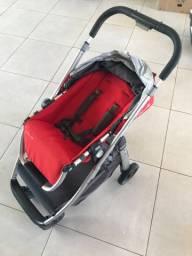 Carrinho de bebê + bebê conforto isofix