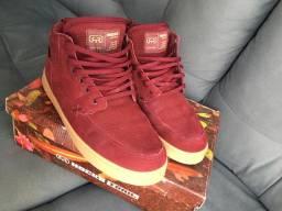 Tênis hocks footwear vinho