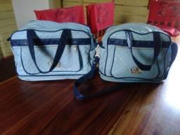 Vendo essas duas bolsas de maternidade menino
