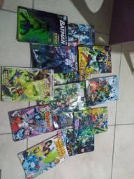 Quadrinhos DC, Marvel e Turma da Mônica Jovem