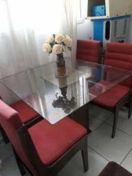 Mesa Quadrada 4 cadeira (Usada)