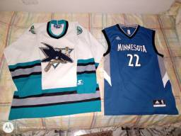Camisas NHL e NBA