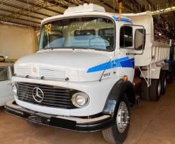 Caminhão MB 1113 1980 caçamba