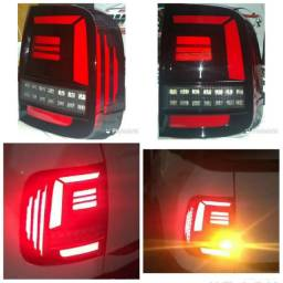 Lanterna customizada com leds Saveiro G7