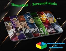 MousePad Personalizado - Seu tema