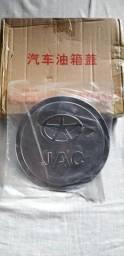Aplique Cromado Do Tanque Jac Alumínio Novo