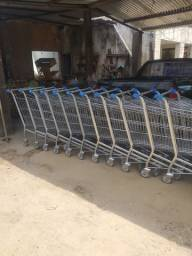 Vendo e reformo carrinho de supermercado