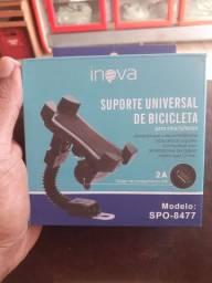 Super promoção, suporte universal com carregador usb.