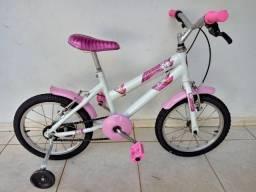 Bicicleta infantil feminina. Aro 16. Ótimo estado.