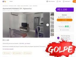 Apartamento Mobiliado 2/4 - Agronomica - Atenção Golpe!