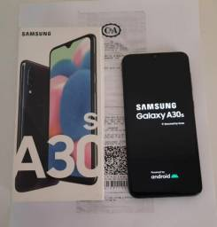 SAMSUNG GALAXY A30S 64GB ESTADO DE NOVO NA GARANTIA
