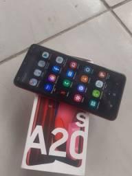 Vendo A20S 32gb 3gb de memória RAM leitor biométrico e facial