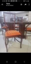 Jogo mesa e 4 cadeiras