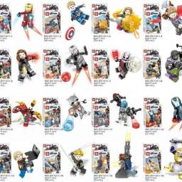 Personagens lego varios modelos anexo nas fotos