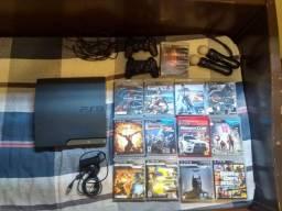 Playstation 3 + move + 13 jogos.