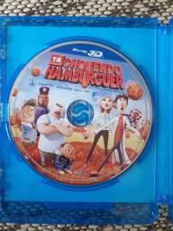 Blu-ray 3D Tá chovendo hamburguer