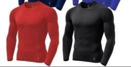 Camisas termicas de proteção unisex
