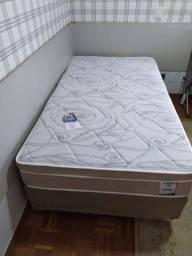 ::Conjunto Cama Box colchao Plumatex Prime casal (138x188) ;;