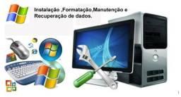 Formatação De Computador E Instalação De Softwares Específicos
