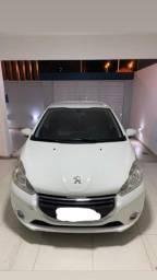 Peugeot 208, Motor 1.5,  Active, Flex, Branco, 2014/2014
