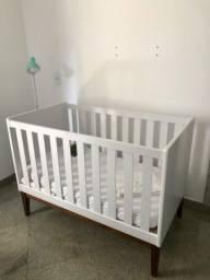 Título do anúncio: Berço/ Mini cama de madeira branco