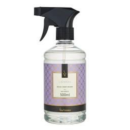 Agua perfumada para tecidos Lavanda ant mof/bact Via Aroma 500ml