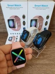 Smartwatch IWO W98 Série 5 opção Tela ligada direto, faz e recebe ligações, Troca Pulseira
