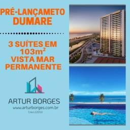 Apartamento vista mar, 3 suítes, no melhor de Jaguaribe. Total infraestrutura.