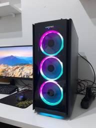 PC Gamer AMD Ryzen 5 3400G 16GB SSD 480GB Fonte 500W CertoX Stream 7110