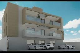 Apartamento térreo de dois quartos com área privativa