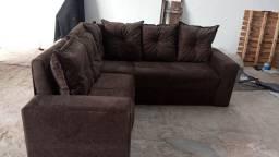Grande oferta de sofá direto da fábrica com entrega grátis em feira