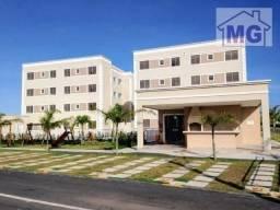 Apartamento com 2 dormitórios à venda, 49 m² por R$ 160.000 - São José do Barreto - Macaé/
