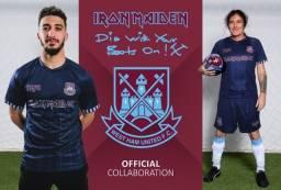 camisas futebol iron maiden 2021 west ham
