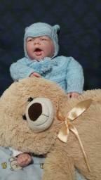 Kit enxoval para bebê em tricô