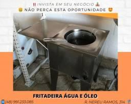 Fritadeira água e óleo | Matheus