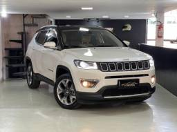 JEEP COMPASS 2.0 LIMITED 2017 INTERNO CARAMELO