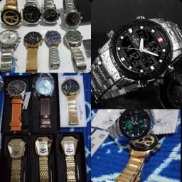 Promoção relógios de luxo e esportivos!