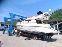 Lancha Ferretti 43 Barco Não Cimitarra Azimut Interm
