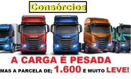 Título do anúncio:  Condições para aquisição do seu primeiro caminhão ou renovação de frota (Sinal+Letras)