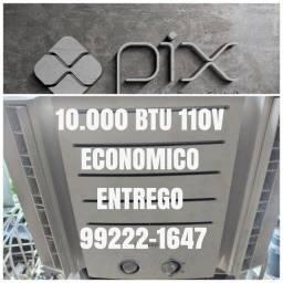 Título do anúncio: Ar Condicionado 10.000 Btu 110V Classe A Ac Cartão 5x Pix Entrego Agora