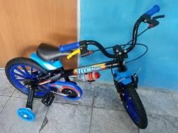 Bicicleta TECH boys aro 16
