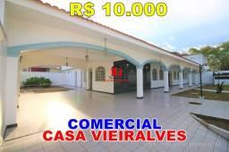 Casa Comercial para Locação no Vieiralves, Até 6 suítes + 2 quartos