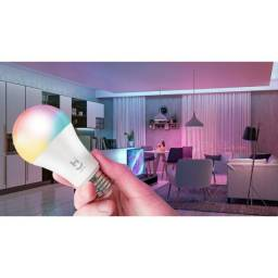 Lâmpada Led Bulbo Smart RGB Wi-Fi 9W Bivolt Alexa/Siri/Google Ass. - Novo na caixa!!!