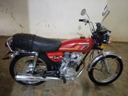 Moto CG Bolinha 1979