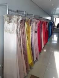 Vendo 500 peças de vestidos festa, noiva, debutante e ternos.