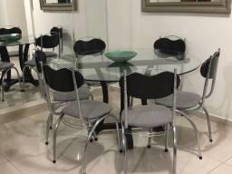 Conjunto de Mesa de Jantar c/ 6 lugares incrível