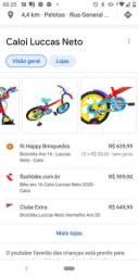 Bicicleta Lucas Neto