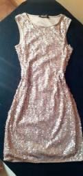 Vestido de paetê tamanho P